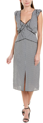 Jason Wu Collection Pleated Midi Dress