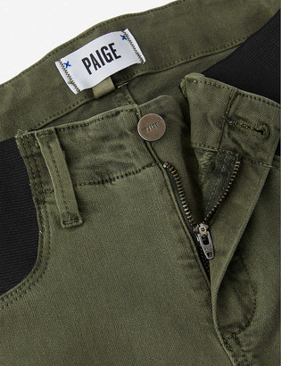 Paige Mayslie maternity stretch-woven trousers