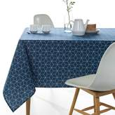 La Redoute Interieurs Geometric Printed Polycotton Tablecloth