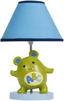 Lambs & Ivy Blue Alpha Baby Lamp & Shade