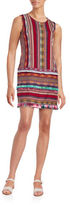 Anna Sui Sleeveless Roundneck Striped Dress