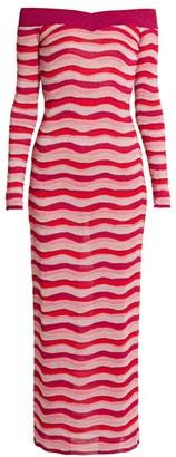 Emilio Pucci Off-The-Shoulder Knit Dress