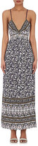 Rebecca Taylor WOMEN'S FLORAL-PRINT CRÊPE MAXI DRESS