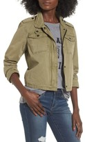 Levi's Women's Crop Military Jacket