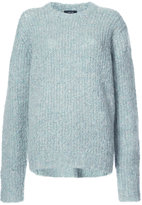 R 13 slouchy ribbed jumper