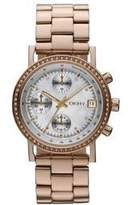 DKNY Glitz Mother-of-Pearl Dial Women's Watch #NY8358