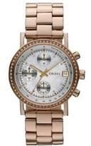 DKNY Glitz Mother-of-Pearl Dial Women's Watch #NY8358