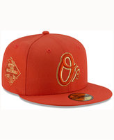 New Era Baltimore Orioles Team On Metallic 59FIFTY Cap