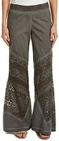XCVI Women's Bryn Embroidered Detail Pants