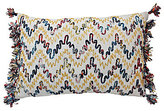 Blissliving Home Mexico City Collection Luminoso Chevron Beaded Pillow