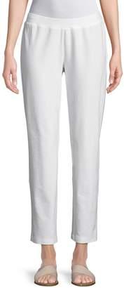 Eileen Fisher Slim-Leg Cropped Pants