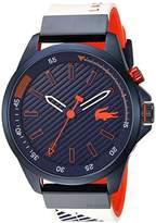 Lacoste Men's 'CAPBRETON' Quartz Resin and Silicone Casual Watch, Color:White (Model: 2010894)