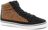 Asos Sneakers With Leopard Print