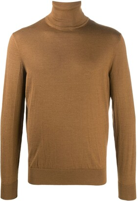 Ermenegildo Zegna Knitted Turtleneck Jumper
