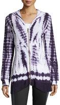 XCVI Mercantile Lightweight Knit Jacket, Eggplant