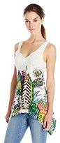 Desigual Women's Knitted T-Shirt Sleeveless 8