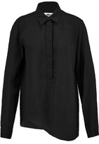 MM6 MAISON MARGIELA Asymmetric Broadcloth Shirt