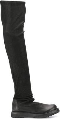 Rick Owens Knee-High Boots