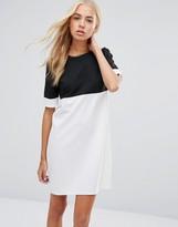 Daisy Street Color Block Shift Dress