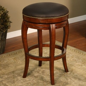 "American Heritage Santos Bar & Counter Swivel Stool Seat Height: Counter Stool (26"" Seat Height)"
