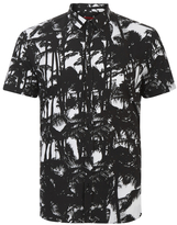 Hugo Empson Printed Shirt Black