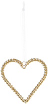 Monsoon Gold Diamante Hanging Heart