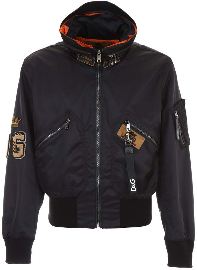 Dolce & Gabbana Bomber With Patches