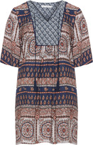 Studio Plus Size All-over print tunic