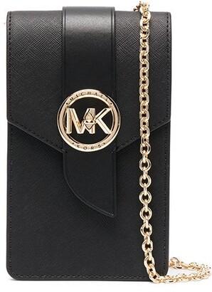 MICHAEL Michael Kors Smartphone Leather Crossbody Bag