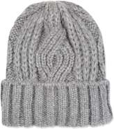 Topshop Cable Knitted Beanie Hat