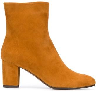 L'Autre Chose Block-Heel Ankle Boots