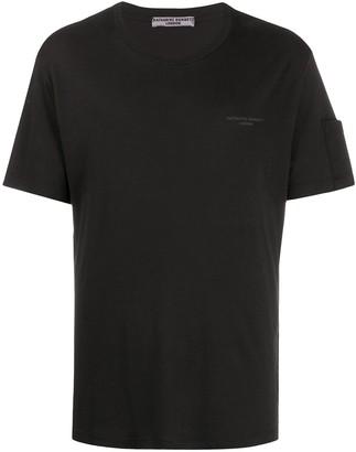 Katharine Hamnett organic cotton logo T-shirt