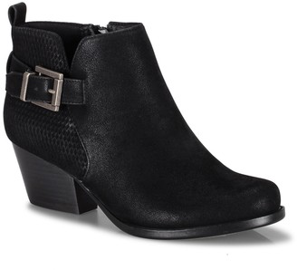 Bare Traps Rudy Perforated Buckle Bootie