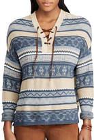 Chaps Petite Wilkerson Long-Sleeve Sweater