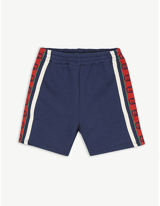 Gucci GG striped cotton shorts 6-36 months
