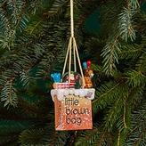 Bloomingdale's Little Brown Bag Santa Circus Snowglobe Ornament - 100% Exclusive