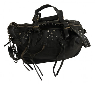 Polo Ralph Lauren Black Leather Bags