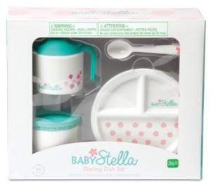 Manhattan Toy Company Manhattan Toy Baby Stella Darling Dish Set Doll Accessory