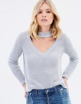 Bardot Adele Keyhole Sweater