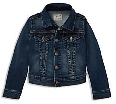 Ralph Lauren Polo Girls' Denim Trucker Jacket - Big Kid