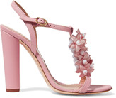 RED Valentino Embellished leather sandals