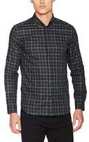 Whyred Men's Stone B.D Tartan Casual Shirt