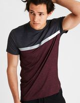 American Eagle Outfitters AE Active Colorblock Crew T-Shirt