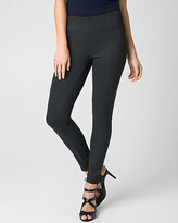 Le Château Houndstooth Ponte Skinny Leg Ankle Pant