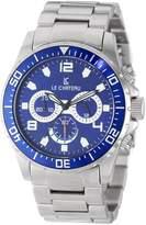 Le Château Men's 7072mssmet_bl Sport Dinamica Chronograph Watch