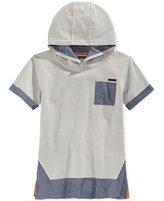 Sean John Little Boys' Short-Sleeve Colorblocked Pullover