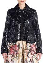 Fendi Cermanic Leather Jacket