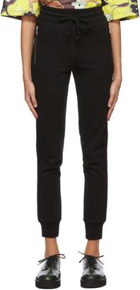 Dries Van Noten Black Zip Lounge Pants