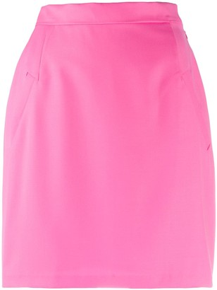 Natasha Zinko Slim-Fit Mini Skirt