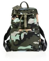 Valentino Multi Army Backpack